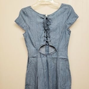American Eagle Outfitters Dresses - NEW! AEO Denim Button Up Dress